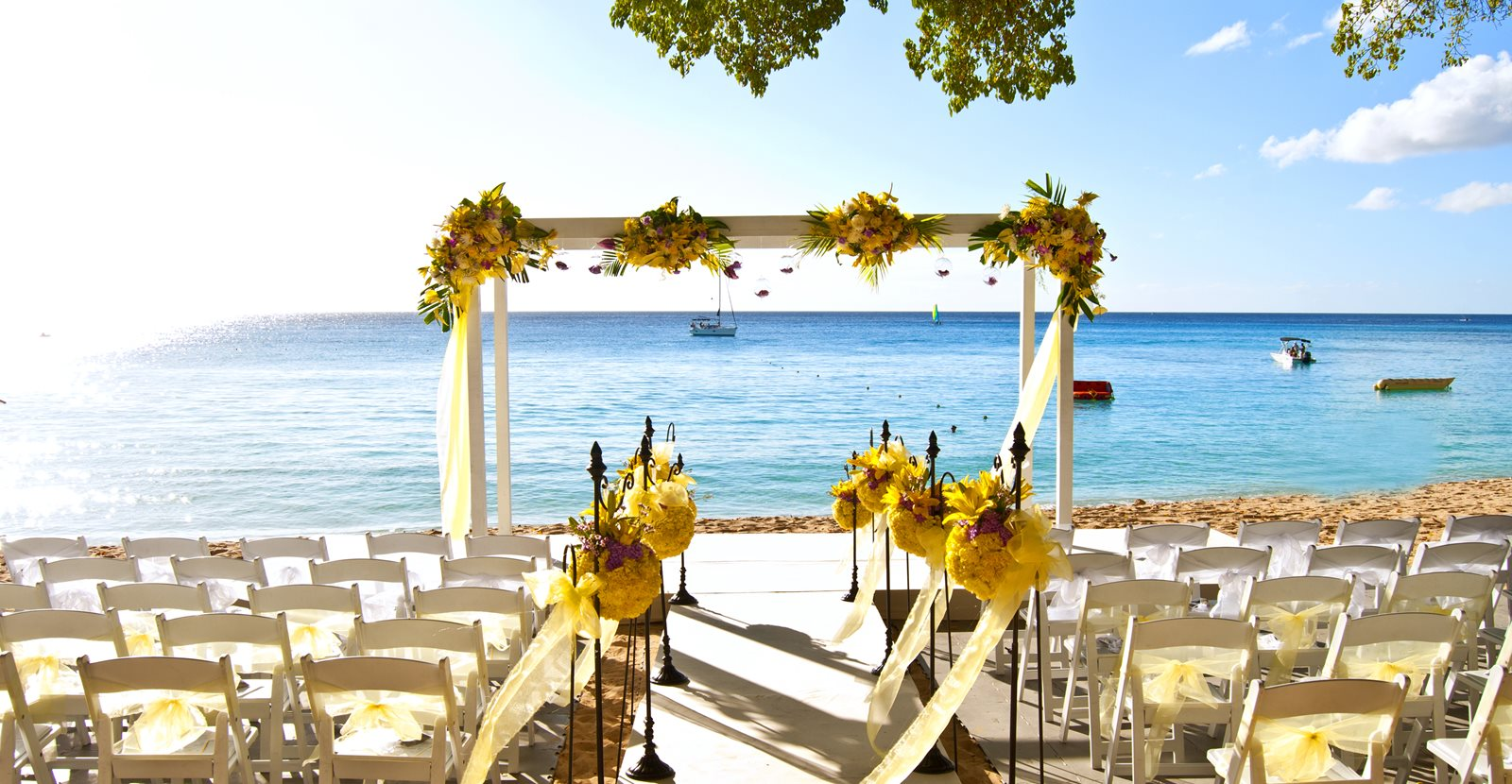 Luxury Caribbean Beach Wedding at Sandy Lane Resort