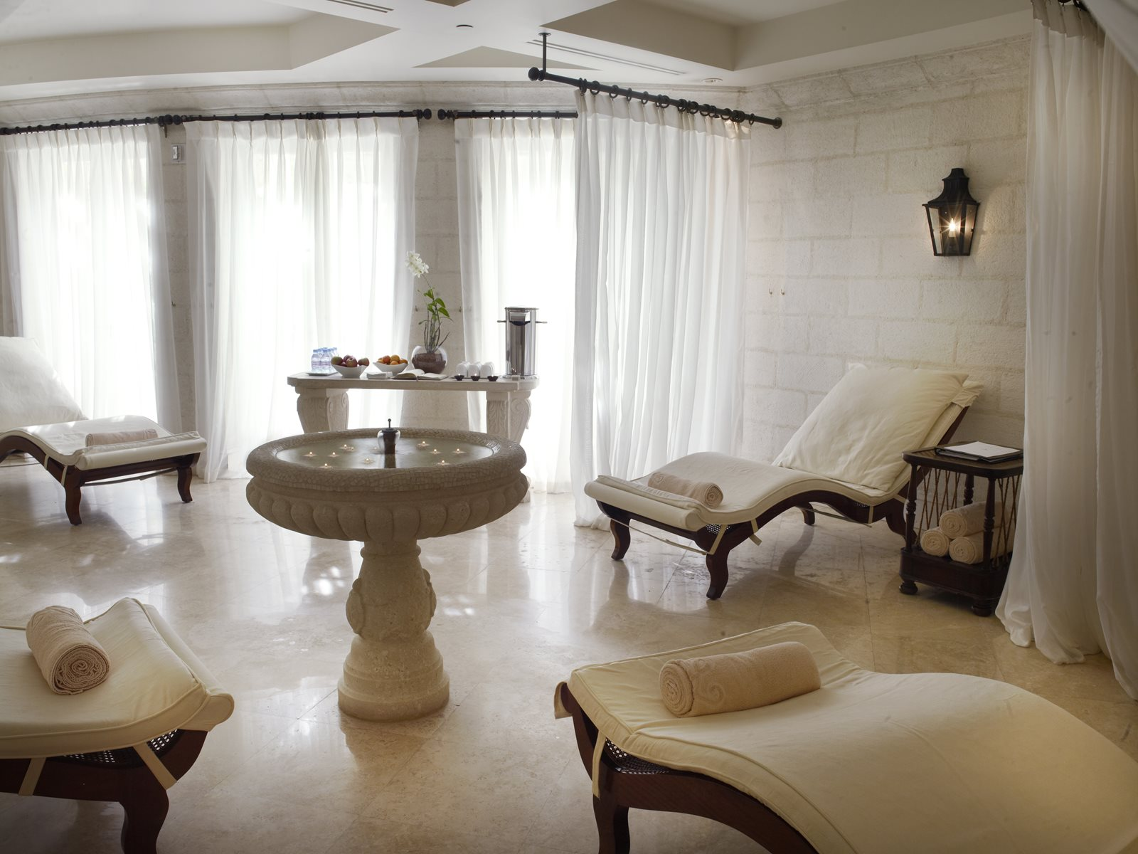 Relaxation Room at Sandy Lane Resort
