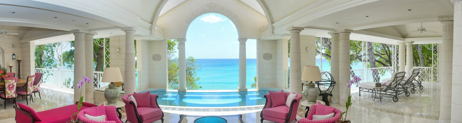 Sandy Lane Resort Luxury Caribbean Infinity Pool