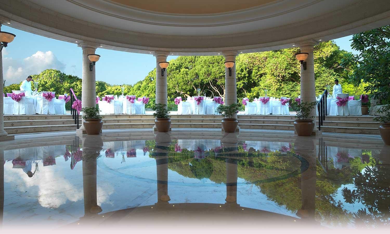 Beach Wedding At Sandy Lane Resort Elegant Outdoor Venue