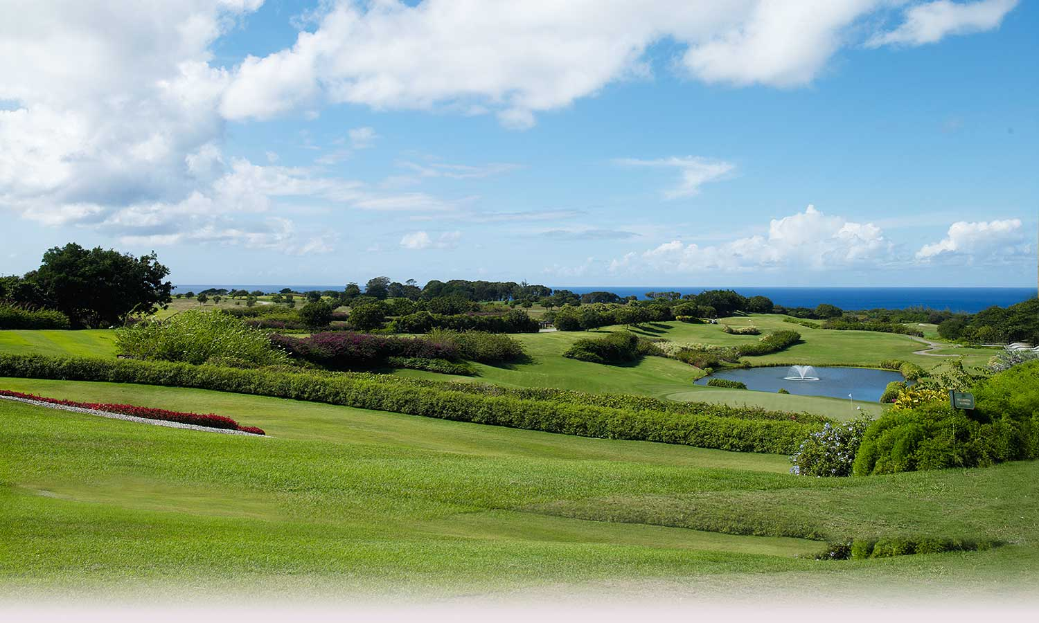 Beautiful Barbados Golf Course Ocean View