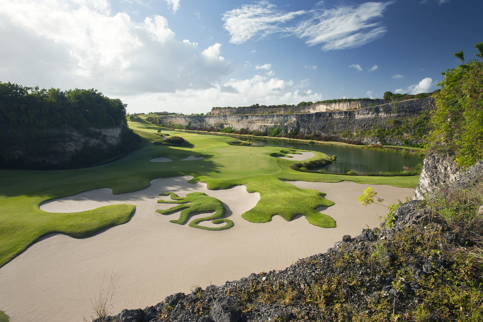The Green Monkey Signature Hole