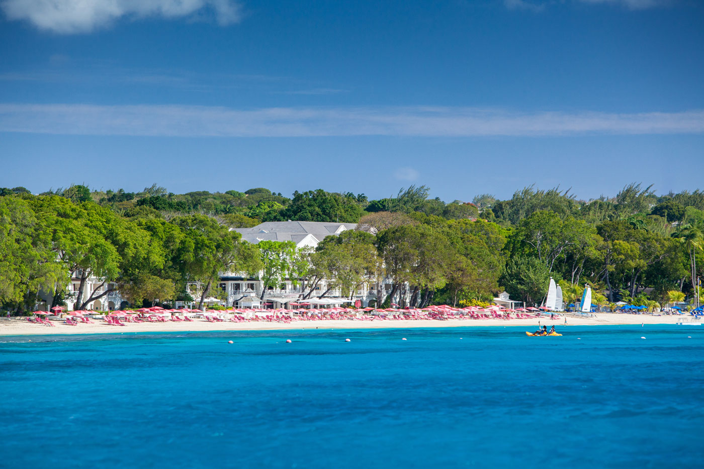 Sandy Lane Resort Barbados Beach